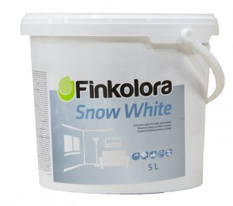 FINKOLORA SNOW WHITE - interiérová farba