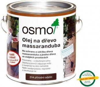 Osmo Terasový olej na MASSARANDUBA - prírodný