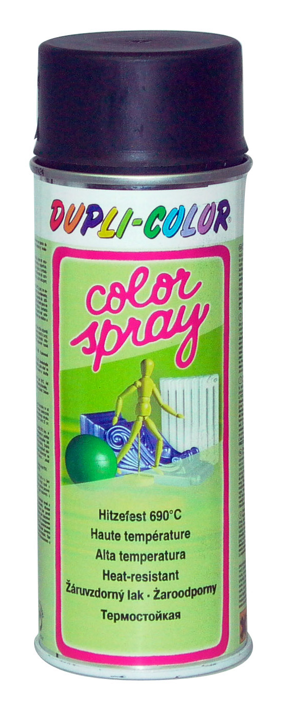 Žiaruvzdorná farba Color Sprej 400 ml strieborná 690°c