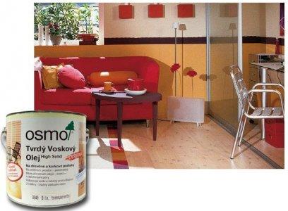 OSMO Tvrdý voskový olej Original na podlahy - farebný
