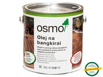 Osmo Terasový olej na BANGKIRAI - prírodný
