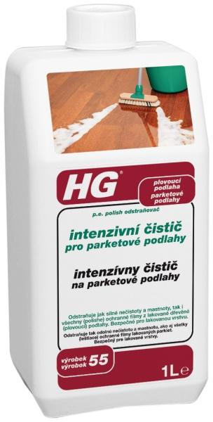 HG Intenzívny čistič na parketové podlahy 1 l 210