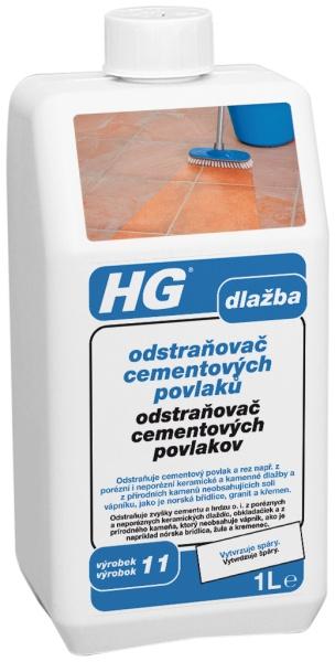 HG Odstraňovač cementových povlakov 1 l 101