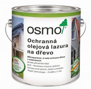 OSMO Ochranná olejová lazura - do vonkajších priestorov