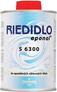 Riedidlo S 6300 - do epoxidových náterových hmôt