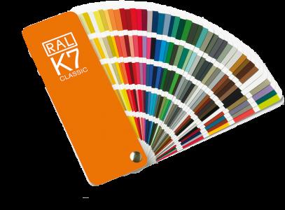 Vzorkovnica RAL - K7