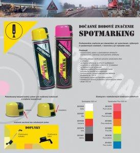 CM SPOTMARKER Fluorescenčný sprej na značenie - značkovací sprej