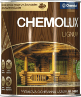 Chemolux Lignum - prémiová ochranná lazúra na drevo