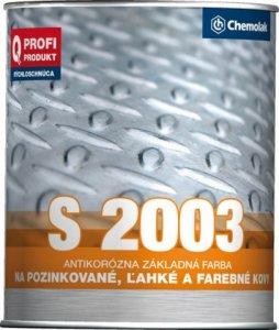 S 2003 Základná syntetická farba na ľahké kovy