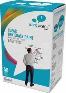 IDEAPAINT CREATE CLEAR - priesvitná whiteboardová farba ipaint
