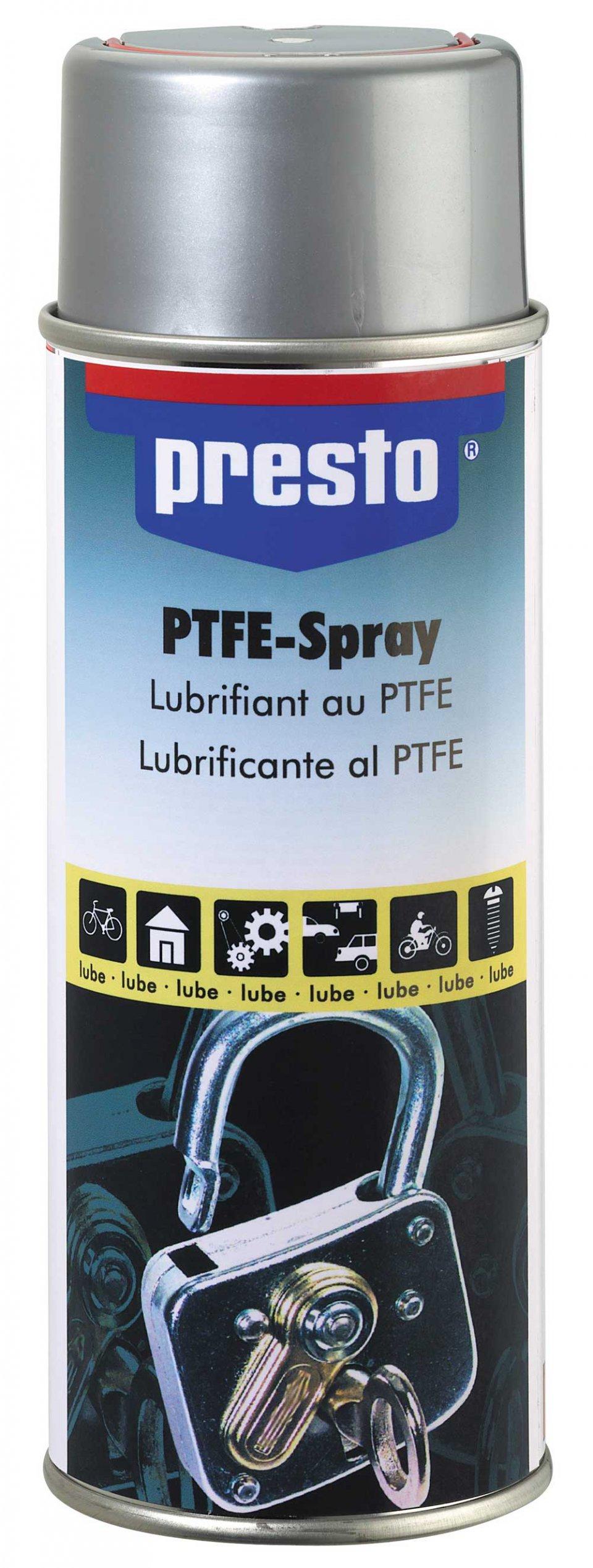 PRESTO Teflonový PTFE sprej - suché mazivo