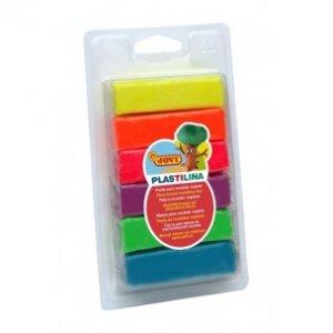 JOVI Plastelína hranolky - balenie neónových farieb