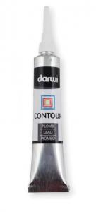 DARWI GLASS - Kontúra k vytrážnym farbám