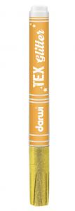DARWI TEX GLITTER - Glitrové fixky na textil