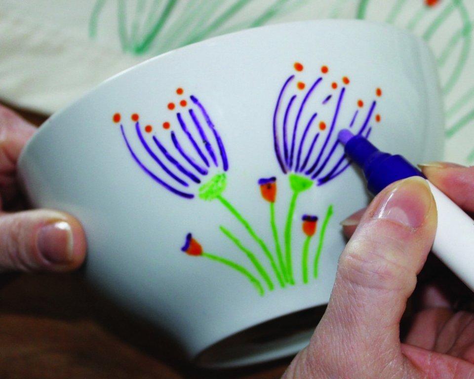 NER Fixy na porcelán - vypaľovacia fixka na porcelán