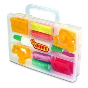 JOVI Plastelína - sada s pomôckami v plastovom kufríku sada
