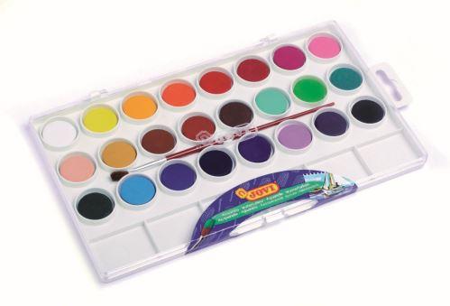 JOVI Vodové farby - sada 24ks so štetcom 216 g