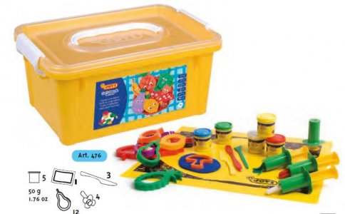 JOVI Blandiver box - hmota, vykrajovátka, vytláčatko ovocie, zelenina, podložka