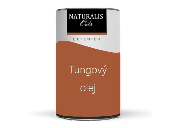 NATURALIS Bezfarebný Tungový olej na drevo - čínsky olej na drevo 5 l 1000 - bezfarebný