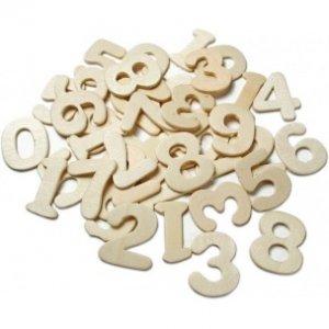 MEYCO Číslice z preglejky - vo veľkosti 25mm