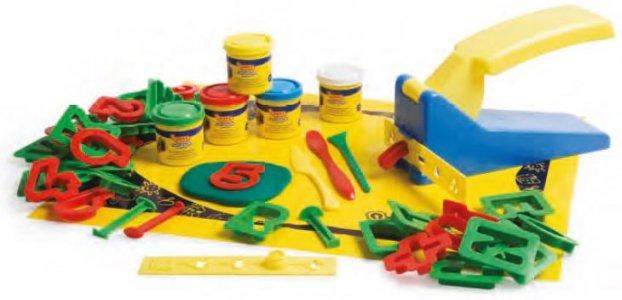 JOVI Blandiver box - hmota, písmená, číslice, vykrajovátka, lis, podložka