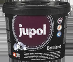JUPOL BRILLIANT new generation - špičková umývateľná interiérová farba biela 5 l = 7,75 kg
