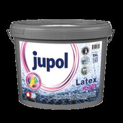 JUPOL LATEX - matná, pololesklá a lesklá latexová farba biela - polomat 5 l = 7,15 kg