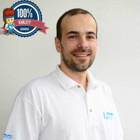 Jozef - Profesionálny technik pre inštaláciu whiteboardovej farby 1 m2