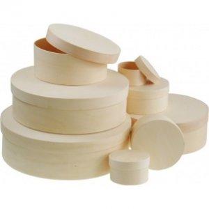 MEYCO - Okrúhly box z preglejky