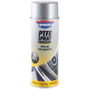 Presto Teflon PTFE DRY sprej - suché mazanie kovu a plastov