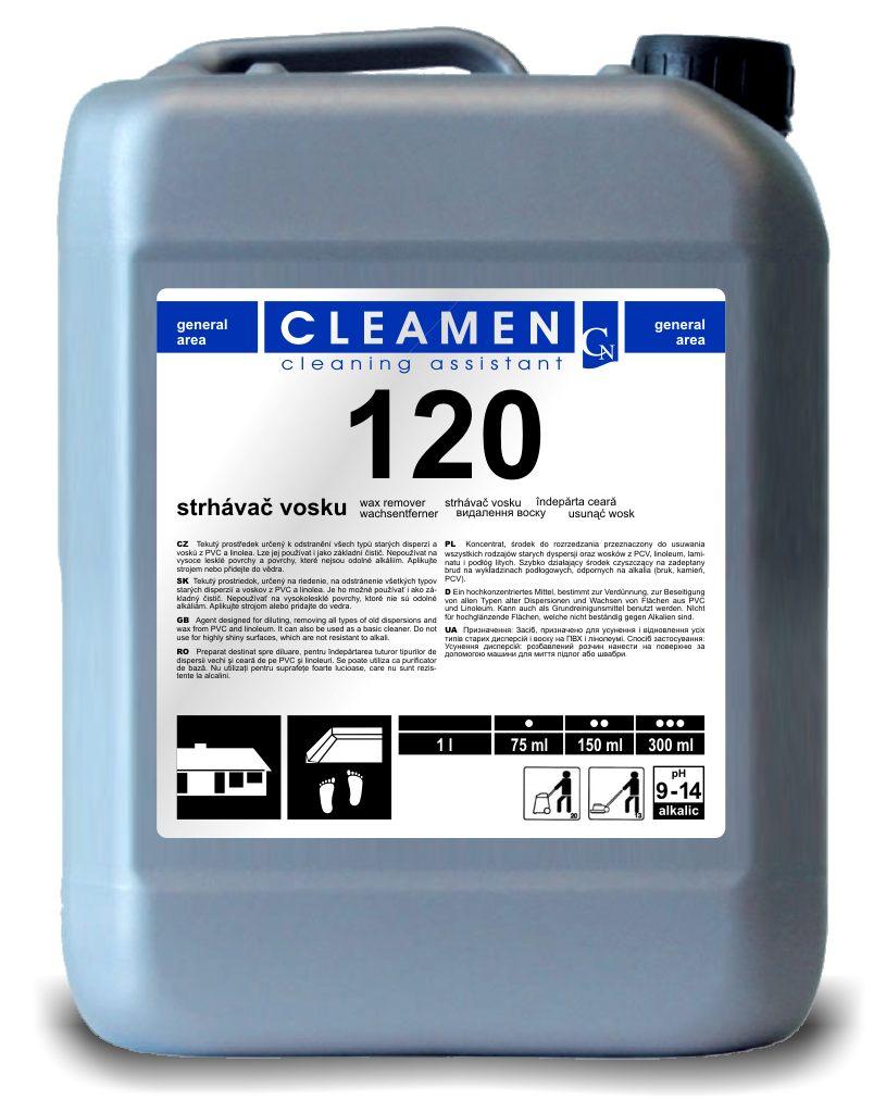 Strhávač vosku - CLEAMEN 120 5 l