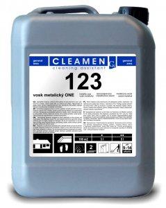 Vosk metalický ONE - CLEAMEN 123