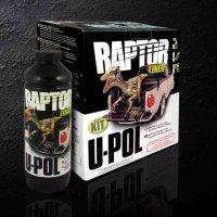 Raptor - čierny tvrdý ochranný náter - SET