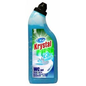KRYSTAL WC gel modrý
