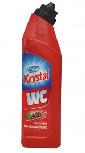 KRYSTAL WC zásaditý na nerez a keramiku s Dezichlórom červený