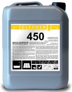 Gelový odvápňovač plôch - CLEAMEN 450
