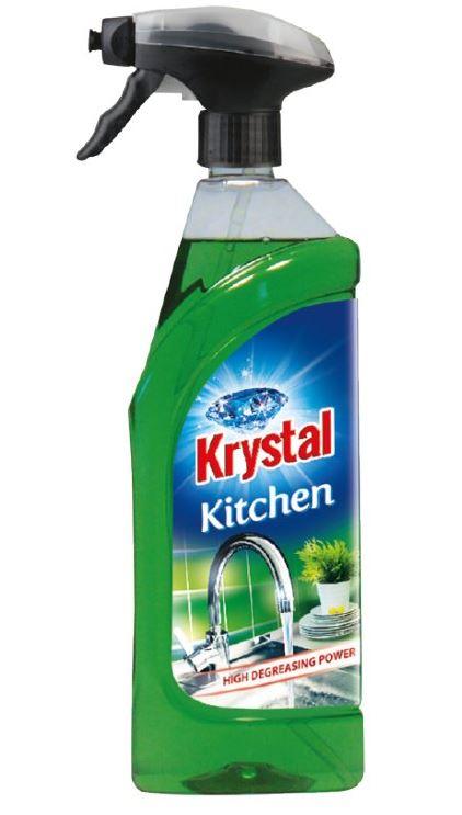 KRYSTAL prostriedok na kuchyne s rozprašovačom 0,75 l