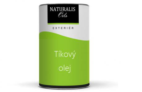 NATURALIS Tíkový olej na drevo - farebný
