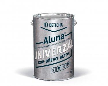 Aluna strieborná - syntetická farba na kov s obsahom hliníka