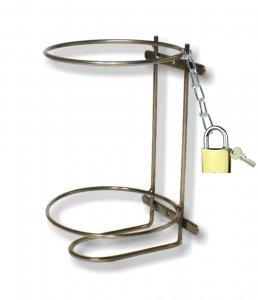 Praktický držiak na suspenzie 3,5 - 4,2 kg so zámkom