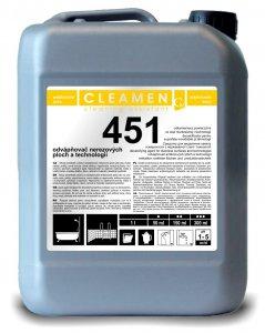 Odvápňovač nerezových plôch - CLEAMEN 451