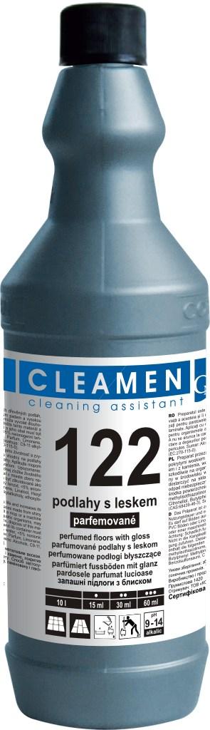 CLEAMEN 122 na podlahy s leskom, parfemované 5 l