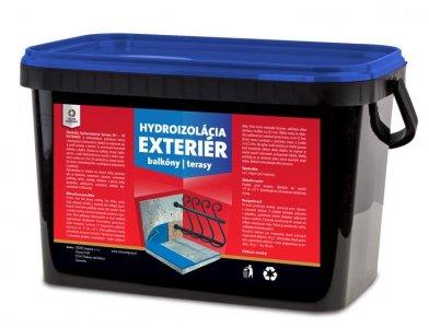Hydroizolačná hmota EH 1K - Exteriér