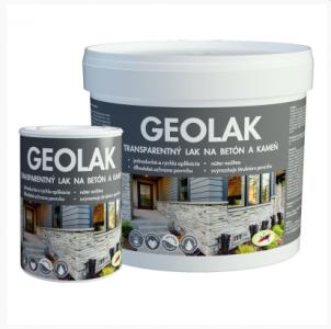 Geolak - lak na betón, kameň, minerálne podklady