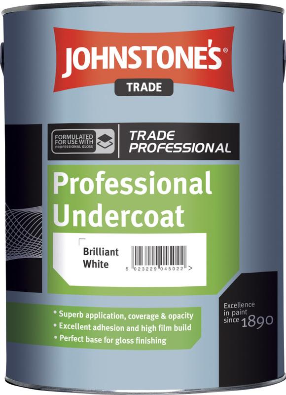 Johnstones Professional Undercoat - syntetická základná farba na drevo a kov 1 l biela