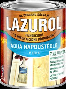 LAZUROL AQUA NAPÚŠŤADLO - fungicídne a insekticídne napúštadlo na drevo