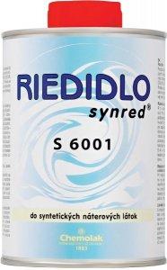 S 6001 Riedidlo určené pre striekanie - do syntetických náterových hmôt