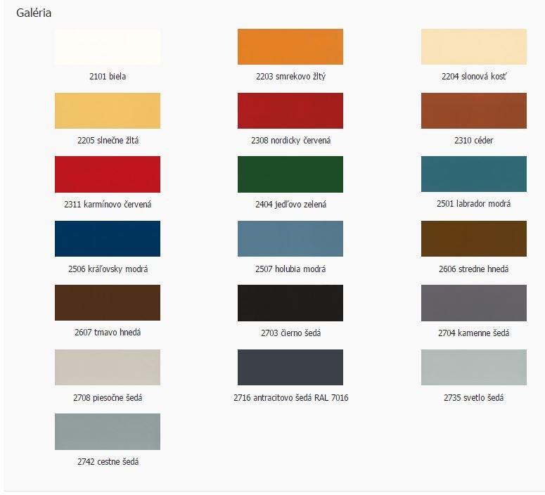 OSMO Vidiecka farba na drevené fasády, balkóny, okná, domčeky