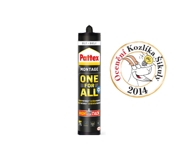 Pattex ONE FOR ALL Montážne lepidlo 440 g