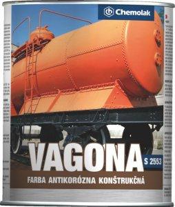 S 2553 VAGONA - Polomatná konštrukčná antikorózna farba